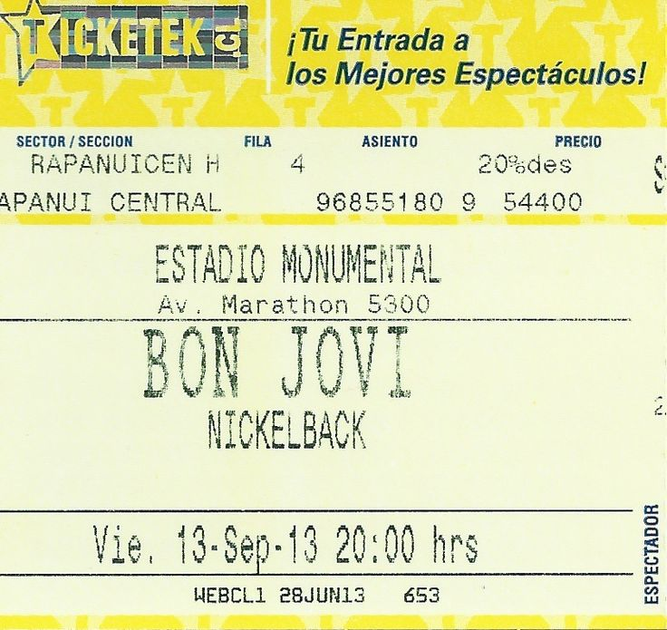 Bon Jovi and Nickelback - Live in Santiago, Chile 24-09-2013