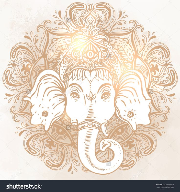 190 best Ganesha Tatoo images on Pinterest | Lord ganesha ...