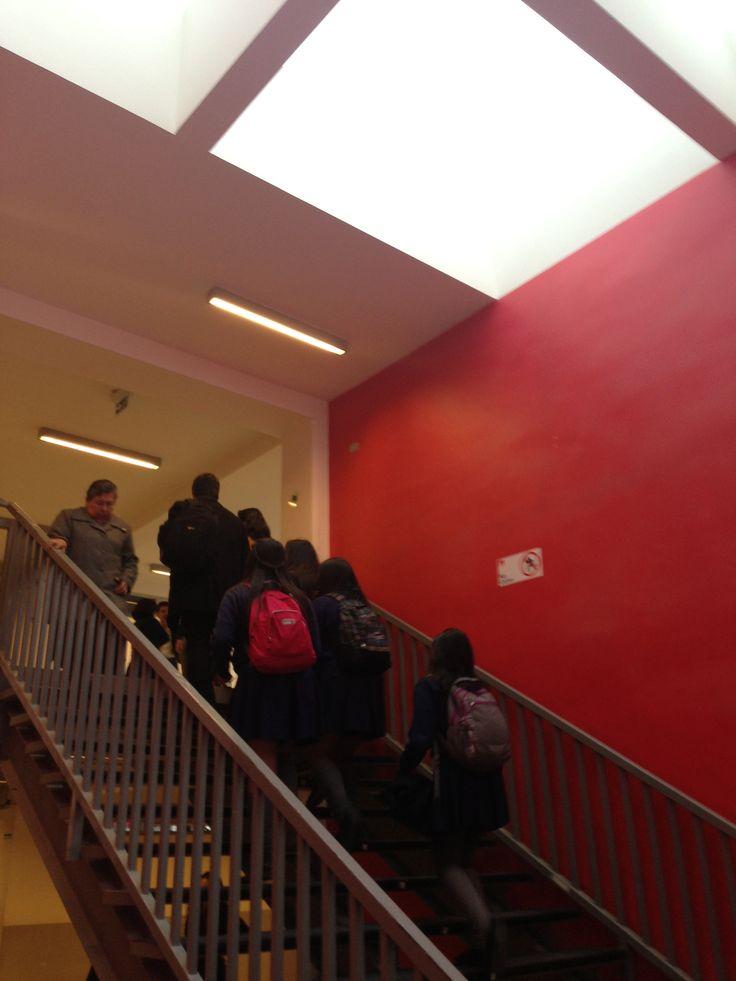 Escaleras Colegio Madres Dominicas Concepción Chile