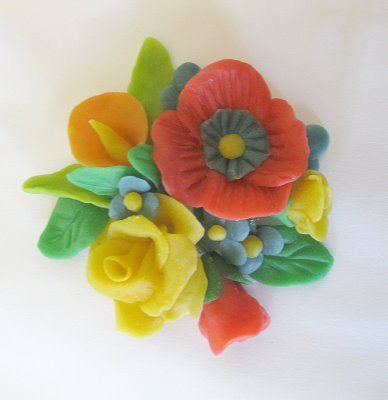 Clay made from bread!  Crazy+Cool.  CAN'T STOP MAKING THINGS: Bread to be Flowers