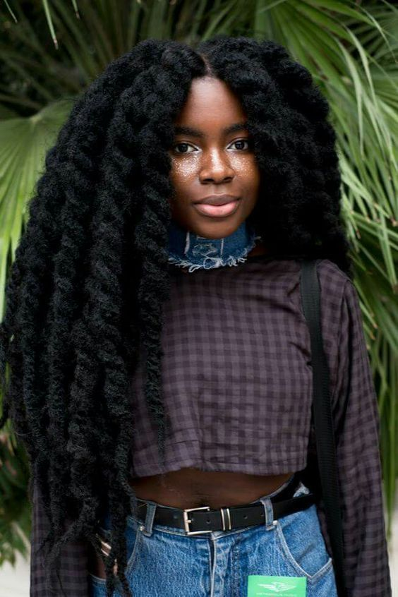 how to fix damanged african hair