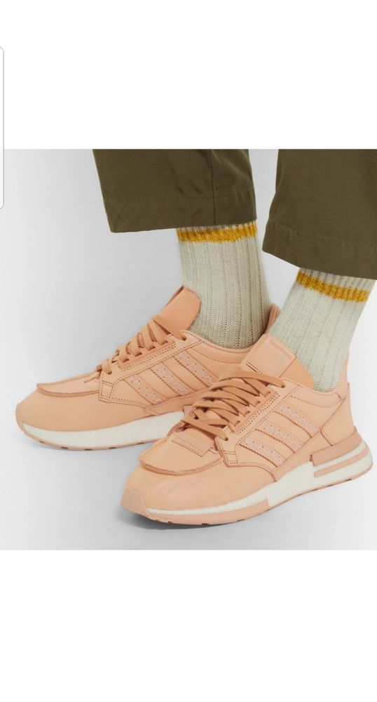 outlet store fdf2b 10795 Hender Scheme x Adidas ZX 500 RM MT Leather Sneakers New ...
