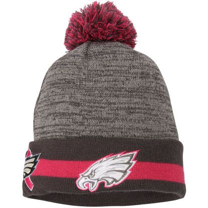 Philadelphia Eagles On-Field Breast Cancer Awareness Sport Knit