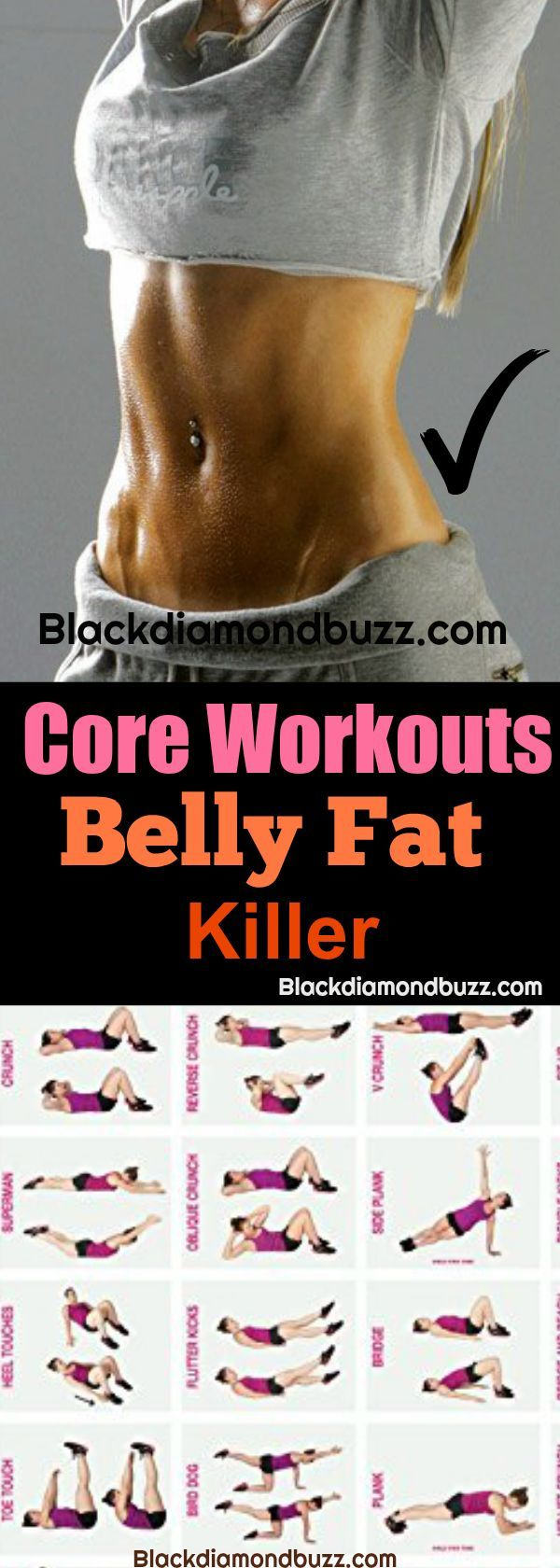 Core Workouts for Women at Home: Lose Weight, Get Six Pack, Strenghten your Abs and Get Flat Stomach Fast. It is the best ab wrkouts for beginner too. Try this!https://www.blackdiamondbuzz.com/core-exercises-for-women/ #coreworkout #abworkout #flatstomach #exerciseforwomen
