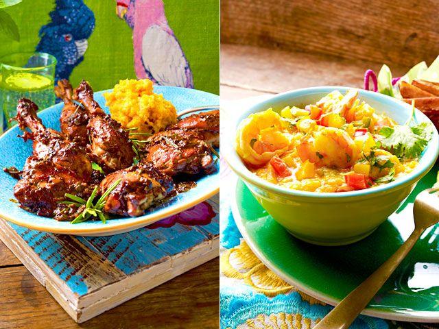 Exotische Früchte, schwarze Bohnen, würziges Fleisch und mehr - brasilianische Rezepte überzeugen durch ihre Vielfältigkeit. Darauf einen…