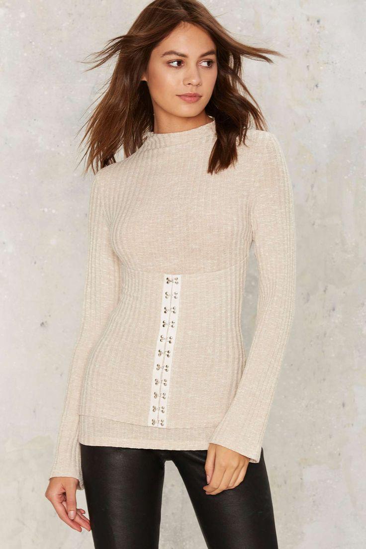 Lavish Alice Hook So Perfect Ribbed Top | Shop Clothes at Nasty Gal!