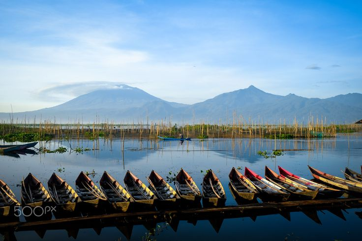 Beautiful Rawa Pening - This is rawa pening, an small lake in central java. I took this pic when i had a national gathering in semarang. This…