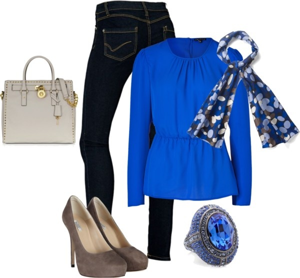 """""""#floral #royalblue night out"""" by lildill26 on Polyvore"""