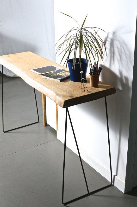 die besten 25 esstisch holz metall ideen auf pinterest. Black Bedroom Furniture Sets. Home Design Ideas