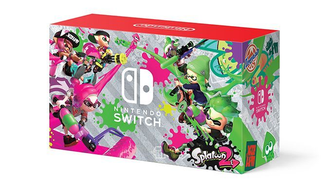 The Nintendo Switch's latest colorfully competitive game, Splatoon 2, is getting a special edition bundle available exclusively to Walmart customers. #nintendoswitch