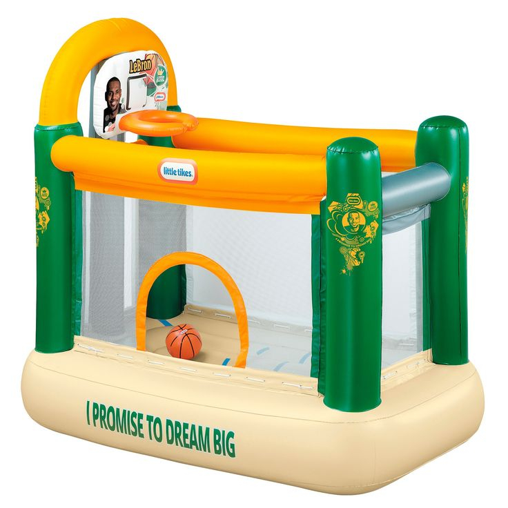 Little Tikes LeBron James Family Foundation Indoor Dunk Bouncer,