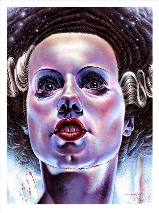 The Bride of Frankenstein - Edmiston – Mondo