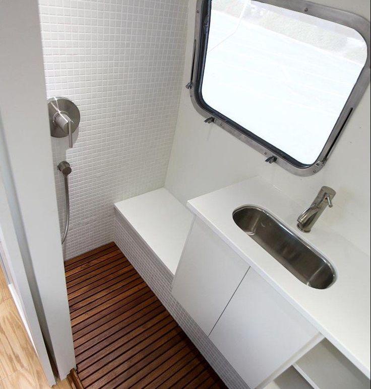 25 Best Airstream Bathroom Ideas On Pinterest Camper