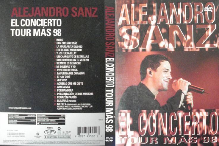 Full DVD de Alejandro Sanz en Concierto Tour mas 98