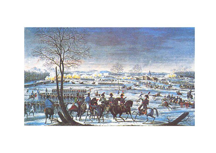 Bataille de Hohenlinden- 3-12-1800