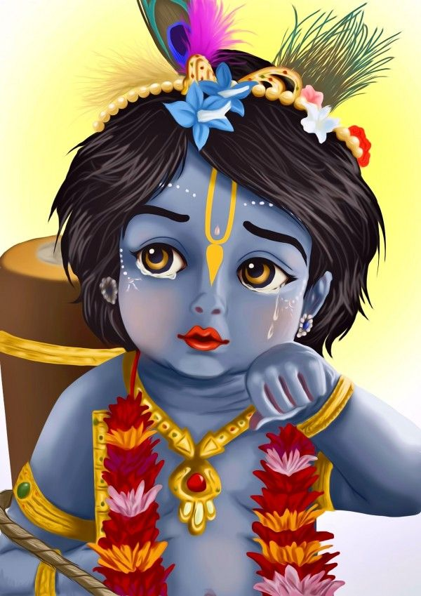 Pin By Megaport Media On Cartoon Baby Krishna Cute Krishna Lord Krishna Wallpapers