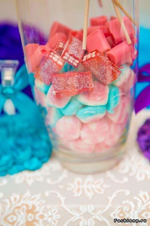 Наша свадьба: детали в фиолетовых и голубых тонах / украшение свадьбы цвет голубой фиолетовый