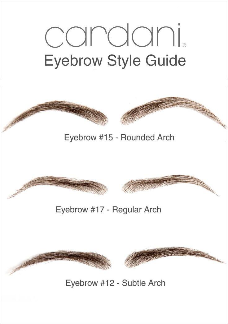 Cardani Realistic Human Hair Eyebrows #12 - Stick On Eyebrow Wig