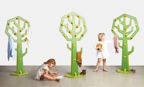 GROU perchero arbol menut 03 500x304 El Bosque en Casa, nueva colección de Muebles Infantiles