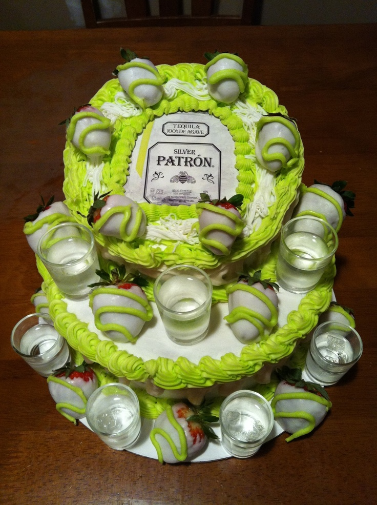 Best Cakes Images On Pinterest Birthday Party Ideas Th - Patron birthday cake