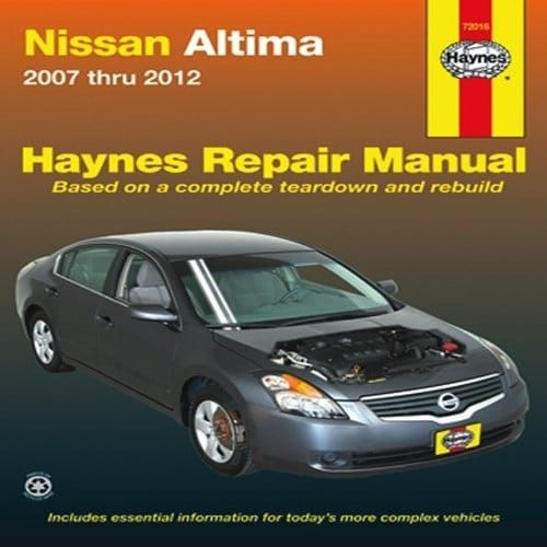 Haynes Repair Manuals Nissan Altima, '07-'10 (72016)