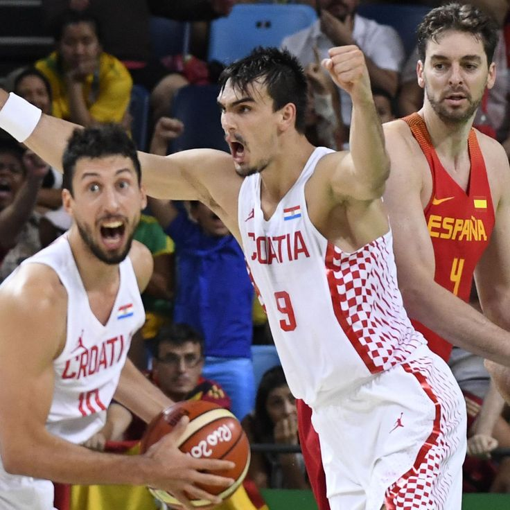 Olympic Basketball Roundup: Dario Saric and Croatia Fearlessly Disrupt Day 2 | Bleacher Report