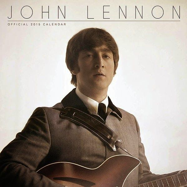 Calendario Oficial John Lennon 2015 | Calendarios de Pared