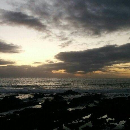 Sunset. Sea Point Promenade