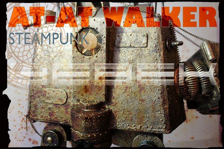 steampunk AT AT walker