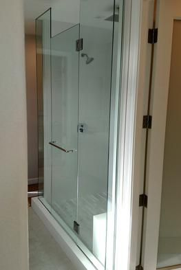 Frameless Shower Enclosure In San Diego, CA | A U0026 D Glass ...