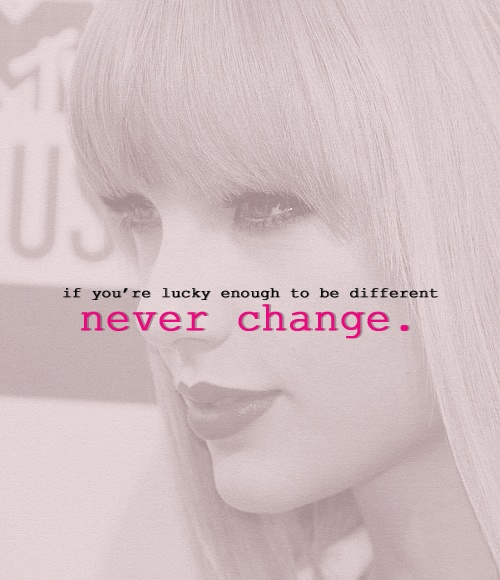 """taylor swift quotes   Tumblr """"If you're lucky enough to be ..."""