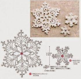Tecendo Artes em Crochet: Estrelinhas para Decorar o seu Natal!
