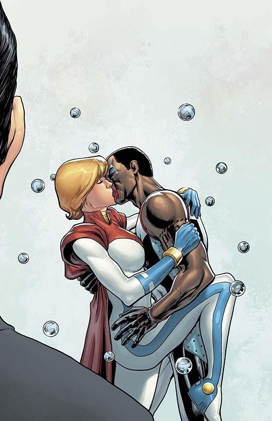 Power Girl and Mister Terrific