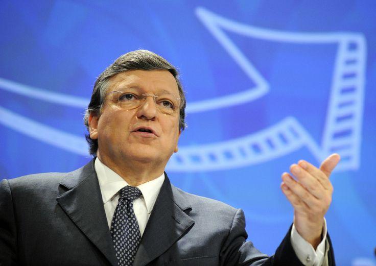 José Manuel Barroso, voorzitter van de Europese commissie.