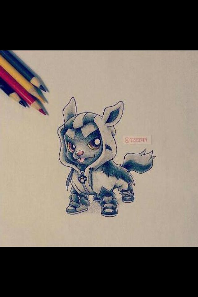Poochyena drawing
