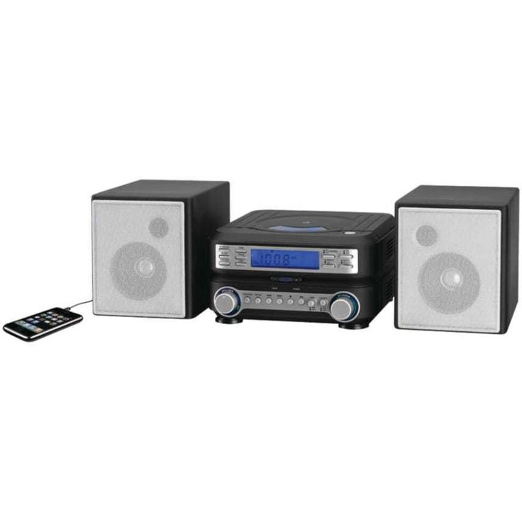 GPX HC221B Compact CD Player Stereo Home Music System with AM/ FM Tuner Compact home stereo system Play CDs, listen to AM/FM radio or an external MP3 player DBBS: Dynamic Bass Boost System through detachable stereo speakers Also has a single alarm - wake to music, radio or alarm Includes remote control: requires 2 AAA batteries (not included) Compact home stereo system Play CDs, listen to AM/FM radio or an external MP3 player DBBS: Dynamic Bass Boost System through detachable s...