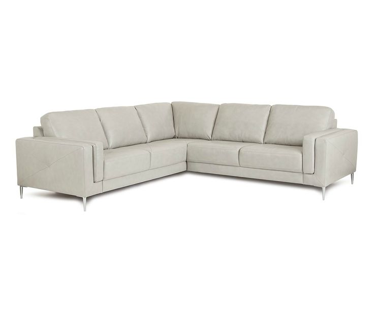 Hani Leather Sectional 902512 Silo 1