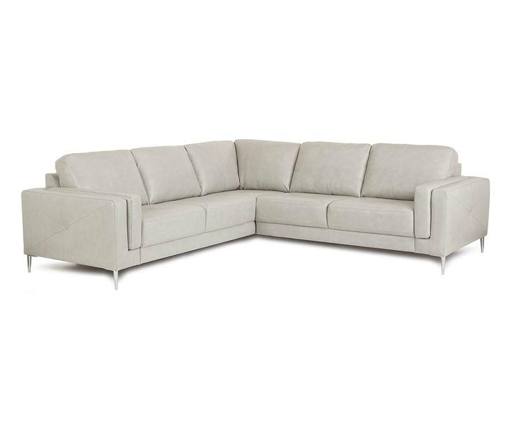 Hani Leather Sectional 902512 Silo 1