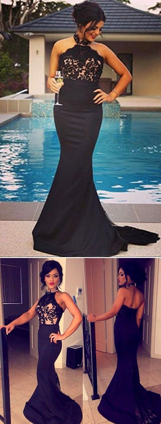 backless mermaid prom dress 2017 Bridesmaid Dresses Sexy Mermaid prom dresses Plus Size Halter Lace prom dresses Bodice Zipper Back Long Formal Special Occasion Dresses