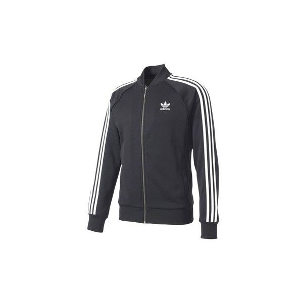 adidas BK5921 Jacket Man Tracksuit jacket (115 CAD) ❤ liked on Polyvore featuring men's fashion, men's clothing, men's outerwear, men's jackets, black, men, sportswear, adidas mens jackets and mens jackets