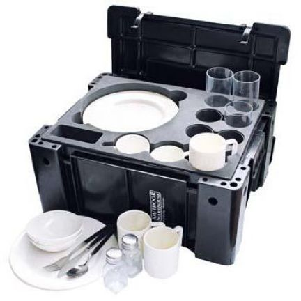 Natural Instincts Campers 6-person Crockery Box