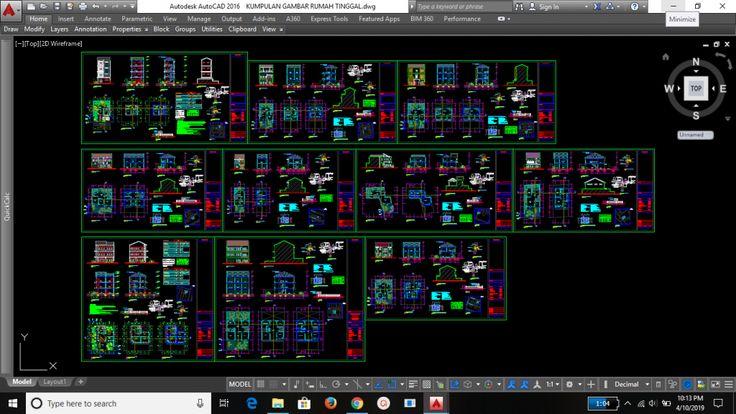 Download Gambar Dwg Pintu Dan Jendela Kumpulan File Dwg Gratis Kumpulan File Autocad Tutorial Membuat Dinding 3d Dan Memasang Je Desain Rumah Jendela Rumah