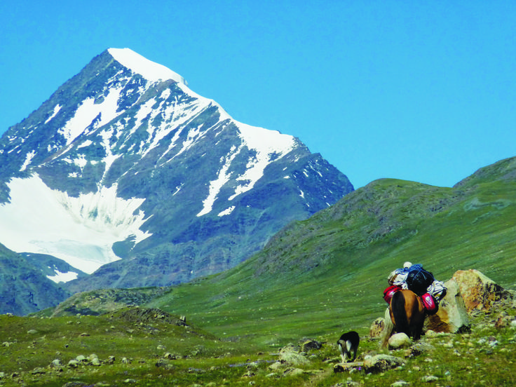 Huiten Peak, also known by the names of Nairamdal Orgil ...