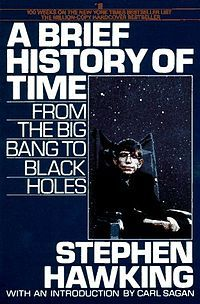 in 1993, Stephen Hawking's 'A Brief History of Time' becomes the longest running book on the bestseller list of The Sunday Times ever.