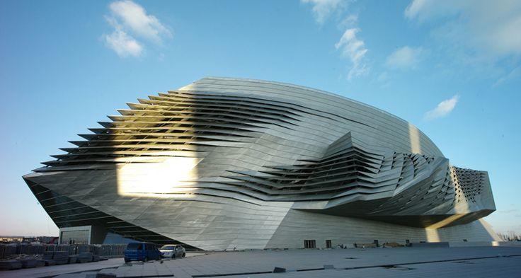 QuadroClad Metal Facade Panels | Hunter Douglas Contract | Dalian International Conference Center