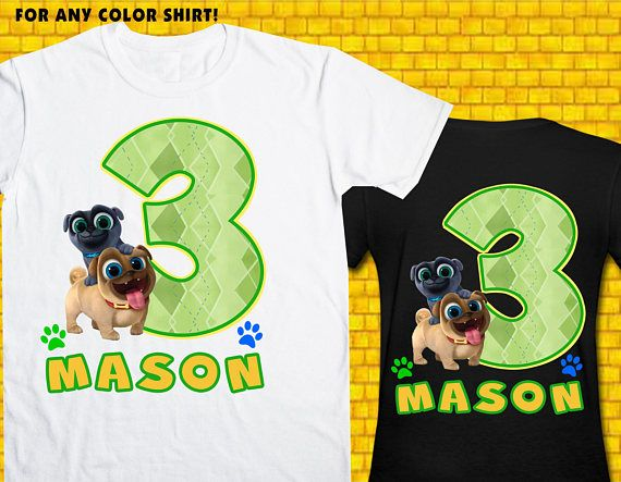 Puppy Dog Pals / Iron On Transfer / Puppy Dog Pals