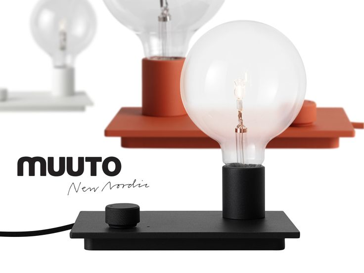 Lampka Control także od Muuto - nawiązuje do wież Hi-Fi z lat 80' Jak Wam się podoba? Znajdziecie ją tutaj → http://bit.ly/1RnhVrn