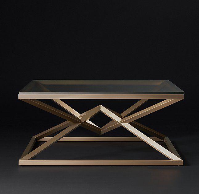 RH <b>Modern</b>//Empire <b>Square</b> Coffee Table | {interior design} в 2019 г ...