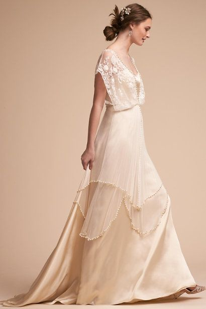 Romantic Bohemian Wedding Dresses.Ivory Lita Gown Bhldn Bridal Dresses Romantic Bohemian Wedding