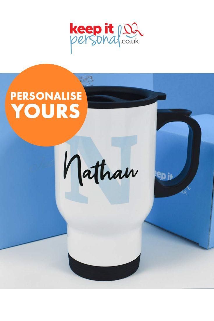 personalised 14oz travel mug